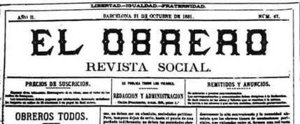 El obrero. Revista social