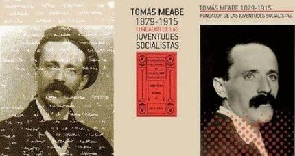 Cartel de la exposición Tomás Meabe (1879-1915) Fundador de las Juventudes Socialistas