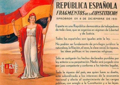 Los socialistas y el Anteproyecto Constitucional en 1931