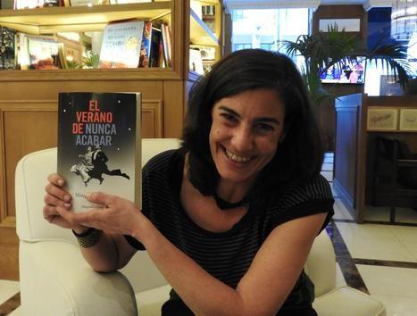 """Entrevista a Ana Sanz-Magallón, autora del 50% de """"El verano de nunca acabar"""""""