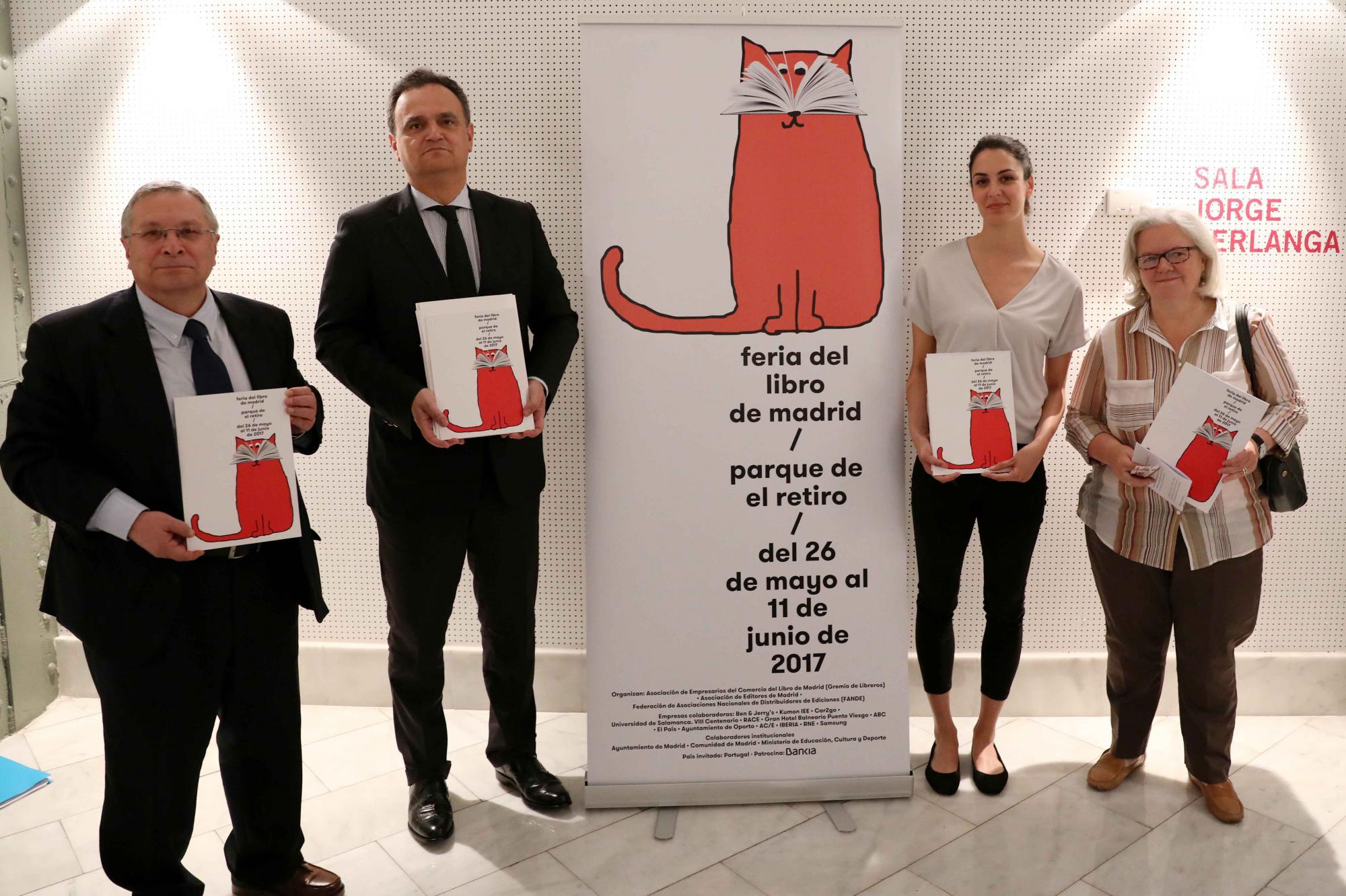 La Feria rinde homenaje a Madrid, ciudad de la lectura
