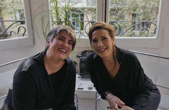 Montse Barderi y Emma Vilarasau