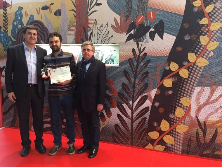 El español Manuel Marson, ha sido el ganador de la VIII Edición del Premio Internacional de Ilustración Feria de Bolonia-Fundación SM