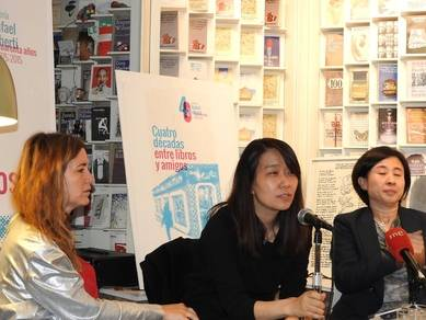 Iolanda Batallé, Han Kang y Sunme Yoon