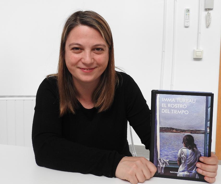 """Entrevista a Imma Turbau, autora de """"El rostro del tiempo"""""""
