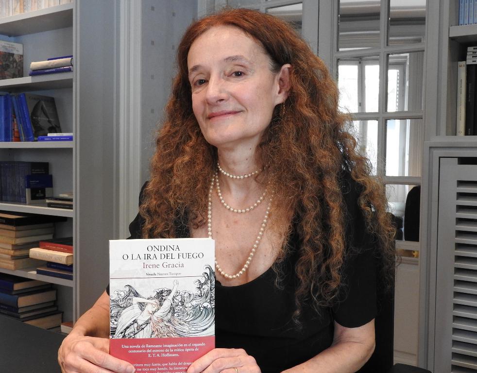 "Entrevista a Irene Gracia, autora de ""Ondina o la ira del fuego"""