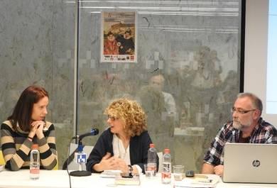 Olalla García, Carolina Molina y Eduardo Valero
