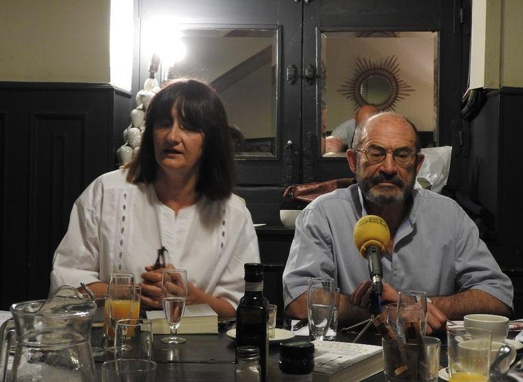 Valeria Ciompi y Juan Madrid