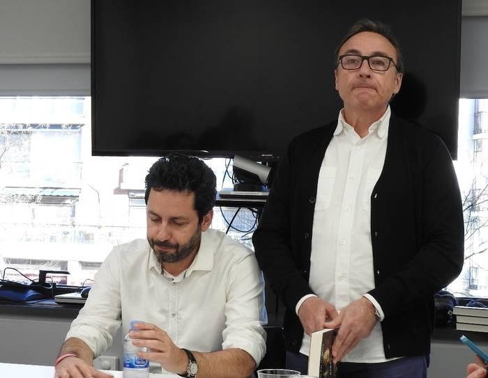 Manuel Ríos San Martín e Iñaki Nieva