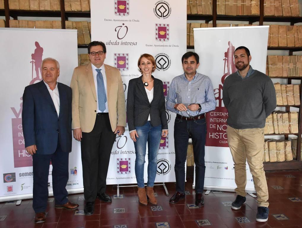 """Se presenta el VI Premio Internacional de Novela Histórica """"Ciudad de Úbeda"""""""