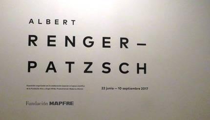 """La exposición: """"Albert Renger-Patzsch. La perspectiva de las cosas"""", podrá ser visitada del 22 de junio al 10 de septiembre de 2017"""