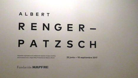 """Exposición: """"Albert Renger-Patzsch. La perspectiva de las cosas"""""""