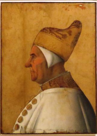 Retrato del dux Giovanni Mocenigo, hacía 1478- 1483. Gentile Bellini