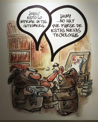 """Viñeta de Jaume Capdevilla """"Kap"""""""