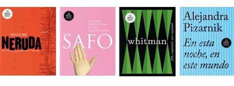 Literatura Random House lanzará el próximo mes de junio la colección de poemarios Poesía Portátil