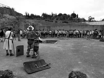 Grupo de recreación del certamen novela histórica de Úbeda
