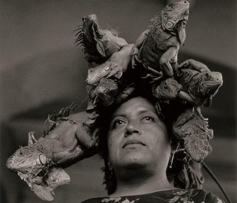 Nuestra Señora de las Iguanas, Juchitán, México, 1979. Graciela Iturbide