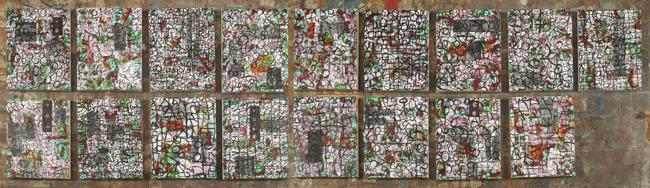 'Vitral Mantra' descubre el universo del pintor Álex de Fluviá