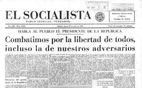 El socialismo al comenzar el siglo XX según el PSOE