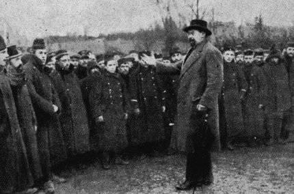 Émile Vandervelde en Bélgica en 1914