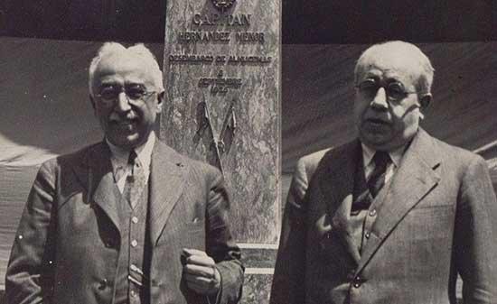 Niceto Alcalá Zamora y Manuel Azaña