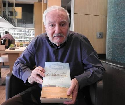 """Entrevista a Álvaro Espina, autor de """"Cerbantes en la casa de Éboli"""""""