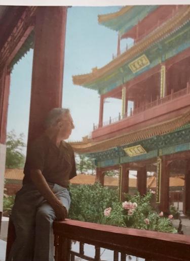 Arconada en la ciudad sagrada de Pekín