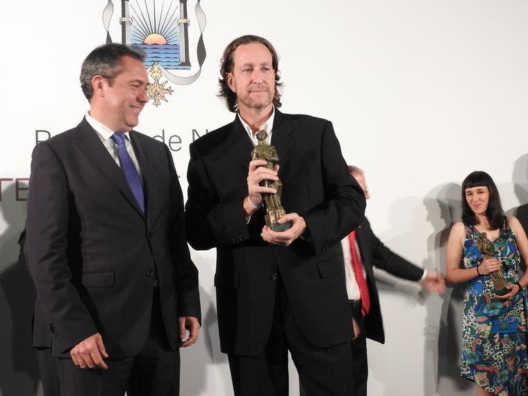 Juan Espadas y Jerónimo Tristante