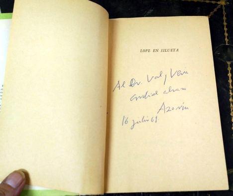 Los libreros de viejo se suman a la celebración del 50 aniversario de la muerte de Azorín y de los 200 sin Zorrilla