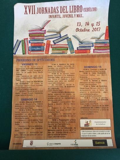 Se celebran las XVII Jornadas del Libro infantil y juvenil Sebúlcor (Segovia)