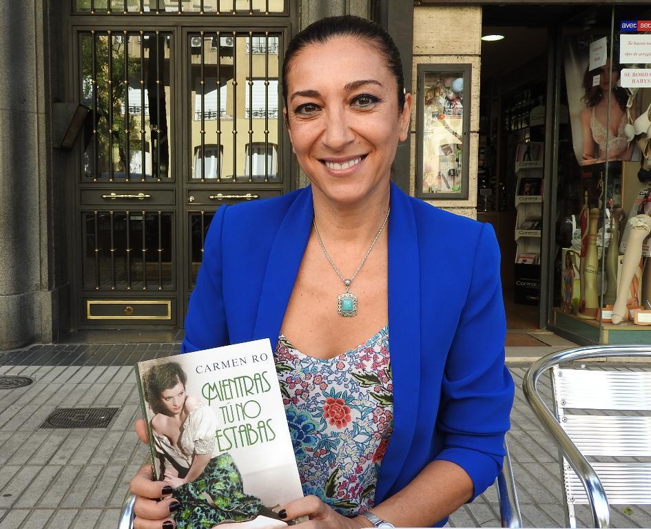 """Entrevista a Carmen Ro, autora de """"Mientras tú no estabas"""""""