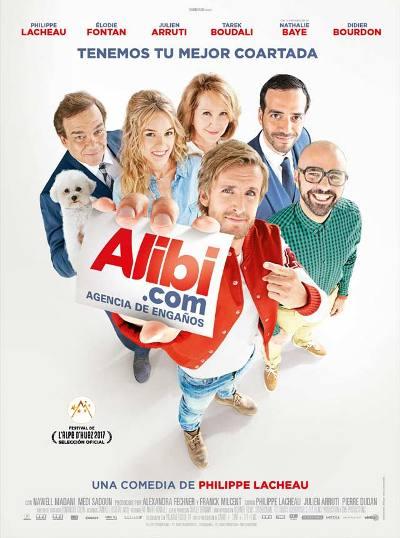 """""""Alibi.com Agencia de engaños"""", escrita, dirigida e interpretada por Philippe Lacheau"""