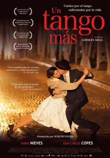 «Un tango más», coproducida, escrita y dirigida por German Kral