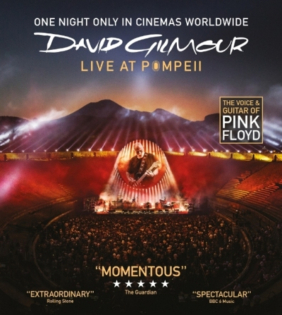 De la arena a la gran pantalla, David Gilmour y Pink Floyd llegan a los cines durante una sola noche