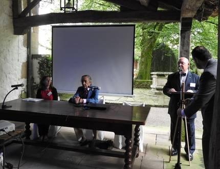 Carolina Cortés Bárcena, Francisco González-Camino y Fernando Gomarín