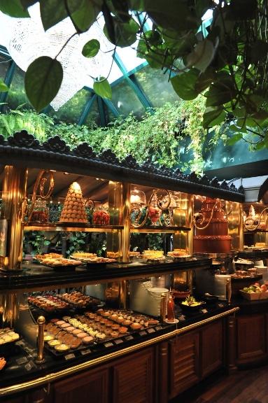 Es uno de los buffets más grandes de Europa