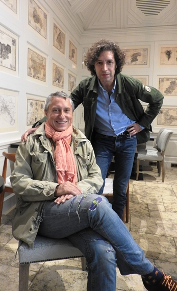 Melchor Miralles y Javier Menéndez Flores