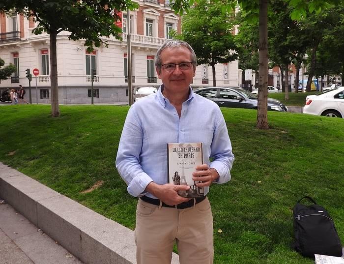 """Entrevista a Juan Vilches, autor de """"Largo invierno en Paris"""""""