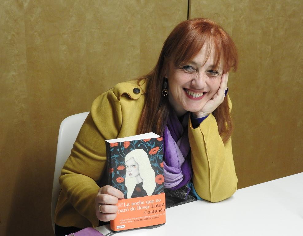 """Entrevista a Laura Castañón, autora de """"La noche que no paró de llover"""""""