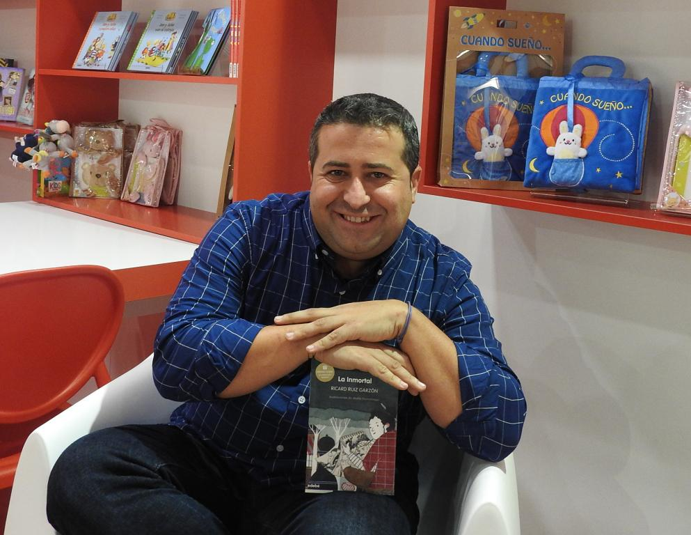 "Entrevista a Ricard Ruiz Garzón, autor de ""La Inmortal"""