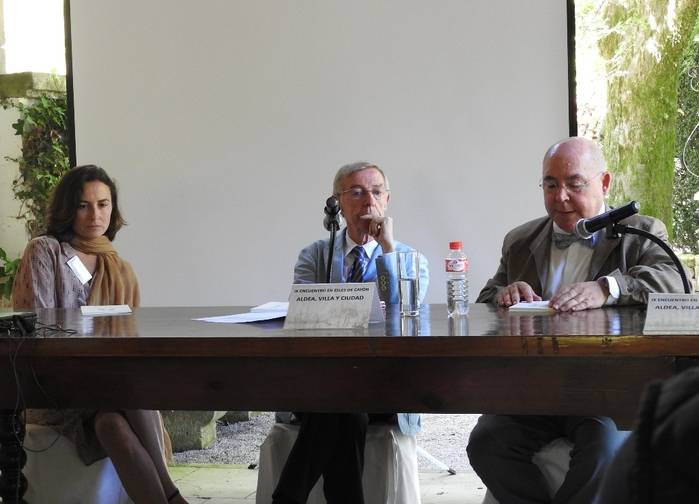 Phil Camino, José Antonio Ruiz Hernando y Fernando Gomarín