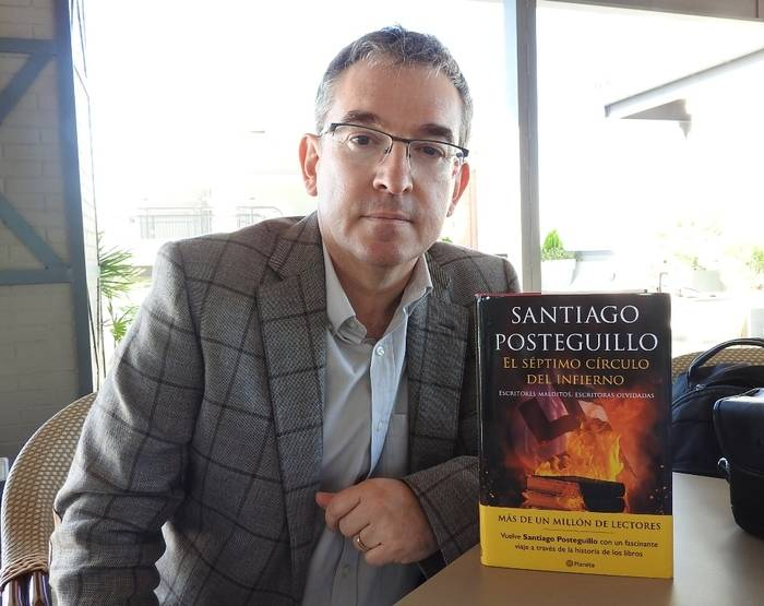 """Entrevista a Santiago Posteguillo, autor de """"El séptimo círculo del infierno"""""""