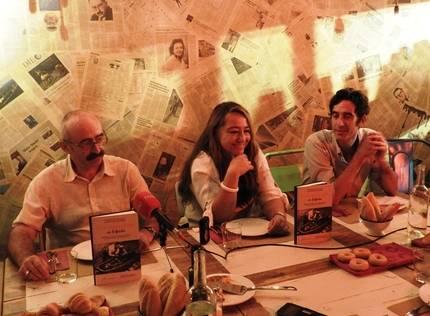 Javier Martínez Babón, Myriam Seco Álvarez y Nacho Garmendía