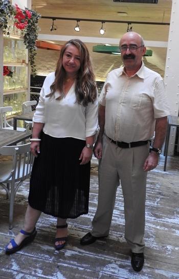 Myriam Seco Álvarez y Javier Martínez Babón