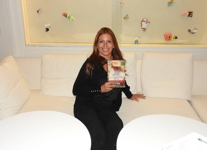 "La escritora argentina Viviana Rivero presenta ""La magia de la vida"", la primera novela que publica en España"