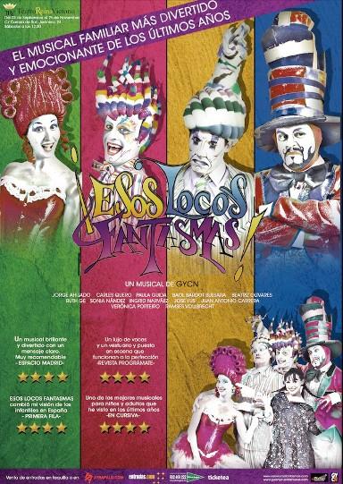 El Teatro Reina Victoria de Madrid se llenará de fantasmas los sábados a mediodía