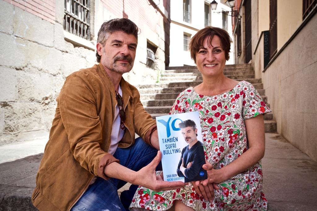 El actor Nacho Guerreros y Sara Bruin publican