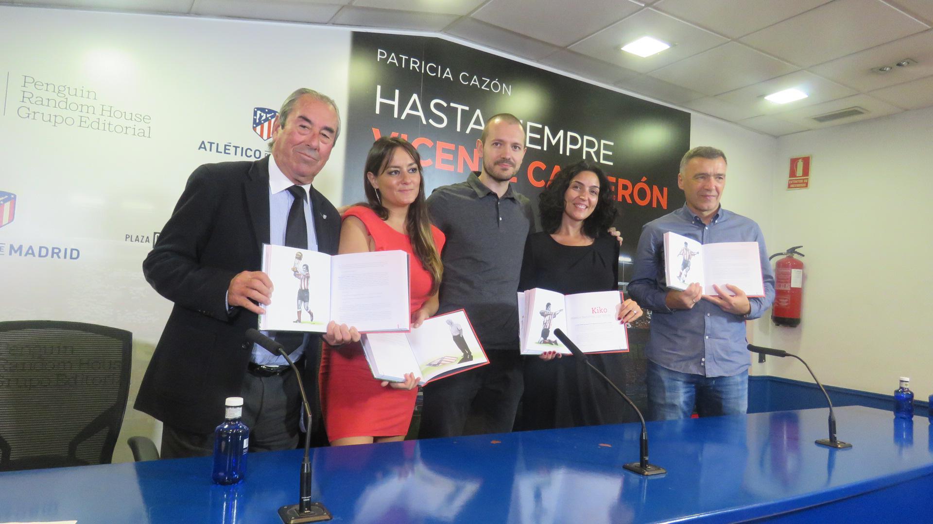 """Presentación del libro """"Hasta siempre Vicente Calderón"""", de Patricia Cazón"""
