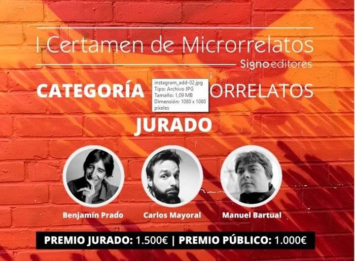 I Certamen de Microrrelatos