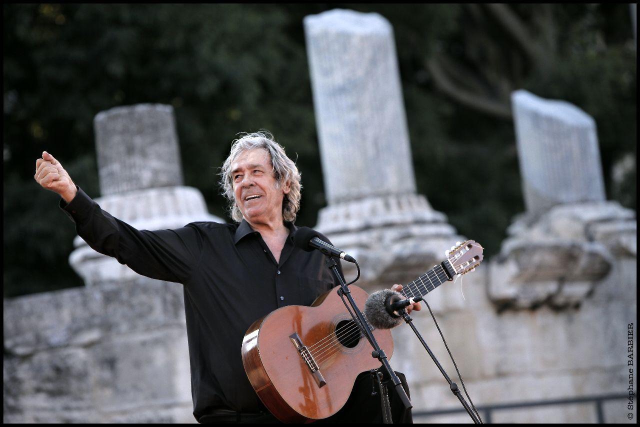 Paco Ibáñez y Carmen Linares presentarán sus nuevos espectáculos en Voix Vives Toledo 2017